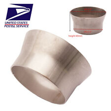 "OD:2.5 ""to OD:3"" Stainless Steel Tubing Transition Adapter Reducer Pipe US Ship"