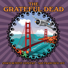 THE GRATEFUL DEAD - SNACK Benefit Concert 1975. New CD + Sealed. **NEW**