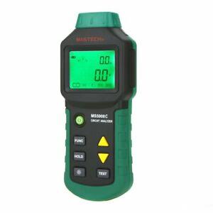 MASTECH MS5908C Circuit Analyzer TRMS AC Voltage Measurements 220V
