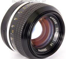 NIKKOR 50 mm 1:1 .4 Nikon Ai convertido rápido primer lente película + Ajuste digital