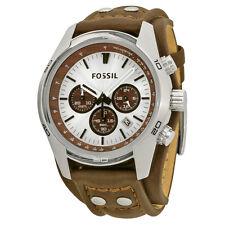 Fossil Chronograph Cuff Leather Mens Watch CH2565-AU