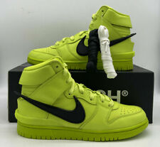 Nike Dunk High Ambush Shoes Flash Lime Black Retro Cu7544-300 Mens Size