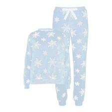 Teen Girls Thick Fleece Warm Christmas PJs Pyjamas Sets Size Age 12-13-14 Years