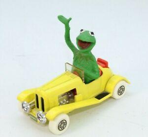 Kermit The Frog Yellow Car Corgi Die-Cast Muppets - Vintage - 1979