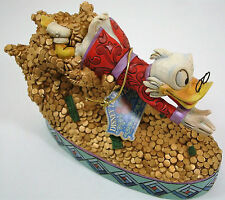 "Disney Showcase Collection Scrooge McDuck ""Treasure Dive"" Statue"