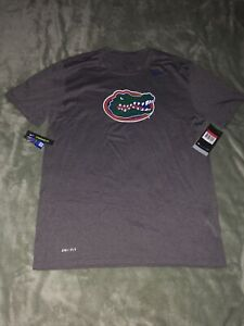 Florida Gators Nike Dri Fit T Shirt Gray Large NWT $30