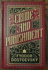 Crime and Punishment, Dostoevsky Barnes & Noble Collectors Leather Bound 2011