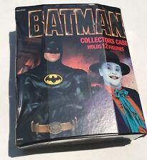 Vintage 1989 ToyBiz Batman Collectors Action Figure Case *New & Unused*