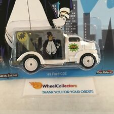 BAD CARD * '49 Ford COE Batman * Hot Wheels Pop Culture * NA18