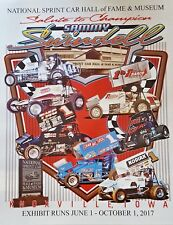 Sammy Swindell Salute to Champion 28X22 HOF Poster World of Outlaws Sprint Car