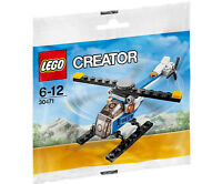 Lego Creator Helicopter Polybag 30471 Hélicoptère Plane Avion Sealed New