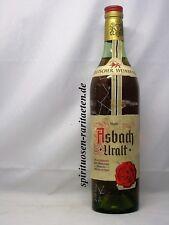 Asbach Uralt Weinbrand aus den 60er Jahren mit Schraubverschluss EVP 10,50