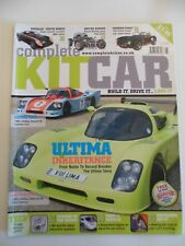 Complete Kitcar magazine - June 2009 - Ultima old and new