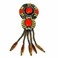 Patch Sewing bag Decoration Inca Kuchi Afghan Banjara Tribal beads AF28