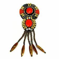 Patch Sewing bag Decoration Inca Kuchi Afghan Banjara Tribal beads AF2