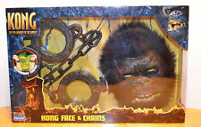 KING KONG MOVIE FACE & CHAINS MASK COSTUME PLAYSET MISB PLAYMATES 2005 MONSTER