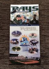RARE 2-LOT 2001 Tampa Bay Devil Rays Baseball: Yearbook, Spring Training Edition
