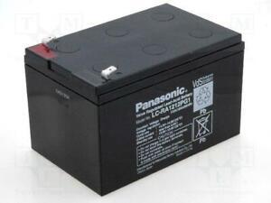 Genuine Panasonic LC-RA1212PG1 12 Volt 12 AH AGM Sealed Lead Acid Battery