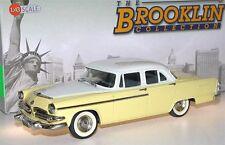 Brooklin BRK 97b, 1955 Dodge Coronet 4-Door Sedan, yellow/white, 1/43