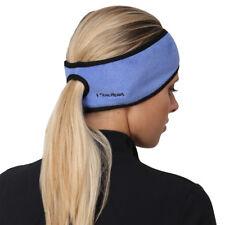TrailHeads Women's Ponytail Headband - French blue / black