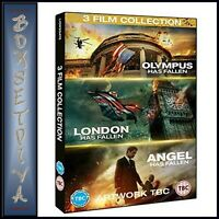 OLYMPUS, LONDON, ANGEL HAS FALLEN - 3 MOVIE COLLECTION  *BRAND NEW DVD