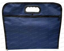 A4 File Document Holder Envelope Wallet Zip Briefcase Folder Tote Waterproof Bag