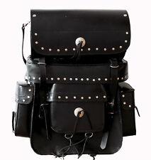 Reise Tasche Sissy Bar Chopper Motorrad Gepäckset Satteltasche sissybar