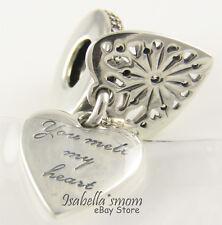 HEART OF WINTER Authentic PANDORA You Melt My Heart Dangle Charm 796372CZ w BOX!
