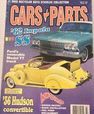 Cars & Parts Magazine '62 Impala SS Ford Model TT March 1999 080217nonrh