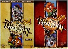 Disney Channel Afternoon Cartoon Series TaleSpin Pilot Baloo Volume 1 & 2 on DVD