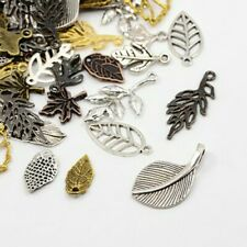 Pack 30 Grams Mixed Random Shapes & Sizes Charms (LEAF)