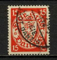 (YYAS 766) Danzig 1925 ERROR oWz UNWMK Mich 214 Gdansk Poland Germany