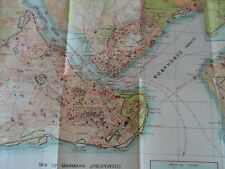 Map of Istanbul 1939 by Municipal Tourist Department Istanbul 1939