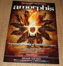 AMORPHIS / HEAVY METAL FINLAND / FORGING THE LAND OF THOUSAND LAKES 2010 POSTER