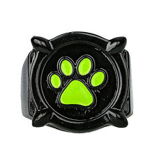 Miraculous Ladybug Anime Cat Noir Claw Ring Black+Green Cosplay Halloween Adult