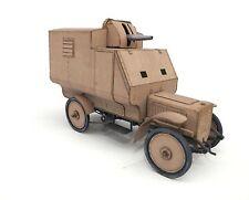 WWI German Armoured AA Car BAK Panzerkampfwagen Ehrhardt M1906 Model 1/35 NEW