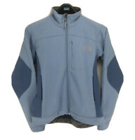 The North Face Apex Women's Jacket Size Small Light Blue Fleece Lined Zip Up