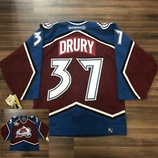 Koho Center Ice Authentic Colorado Avalanche Chris Drury NHL Hockey Jersey 48