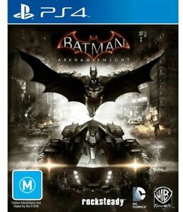 PS4 - BATMAN ARKHAM KNIGHT  PLAYSTATION 4...DISCS LIKE NEW    V1