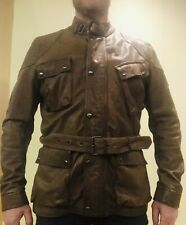 Belstaff leather jacket SPEEDMASTER SIZE 54