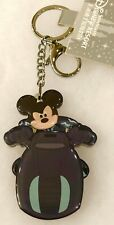 Tron Mickey Mouse Light Cycle Keychain Shanghai Disney Disneyland Retired