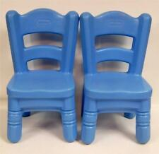 Little Tikes BLUE Victorian Country Kitchen Chairs REPLACEMENT CHAIRS