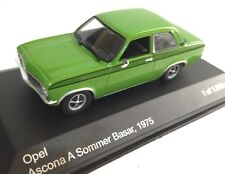 Opel Ascona A Sommer Basar 1975 WHITEBOX coche 1/43 DIECAST