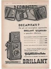 Pubblicità vintage VOIGTLANDER BRILLANT FOTO advert werbung publicitè reklam