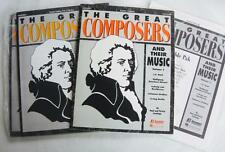 Great Composers Volume I  Music Teacher Resource  Lot Student Paks Jennings