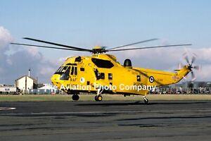 RAF 202 Squadron Westland Sea King HAR.3 ZE368 (1987) Photograph
