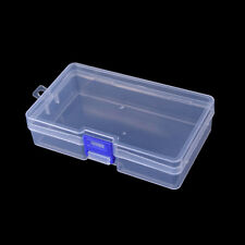 Transparent fishing lure tackle hook bait plastic storage box container case ATA