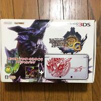 Monster Hunter 3 (Try) G Special Pack Nintendo 3DS from japan rare