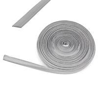 10 lfm Kederband 12mm silber Kunststoff Leistenfüller für Wohnwagen + Wohnmobil