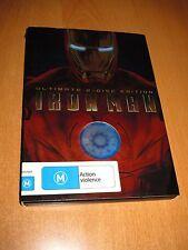 IRON MAN : ULTIMATE 2-DISC SET EDITION ( DVD , REGION 4 )
